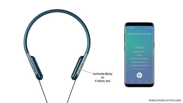 Samsung U Flex Bluetooth In-ear Flexible Headphones with Microphone (Blue)-5816