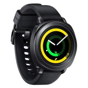 Samsung Gear Sport Smartwatch (Black) (100% New but Packing/Seal is Damage) with 1Year Warranty-0