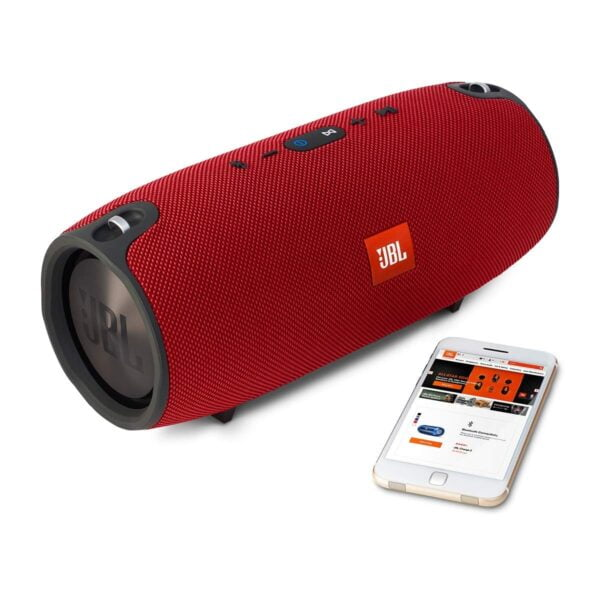 JBL Xtreme Ultra-Powerful Portable Speaker with Built-in Powerbank (Red)-5797