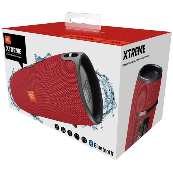JBL Xtreme Ultra-Powerful Portable Speaker with Built-in Powerbank (Red)-5794