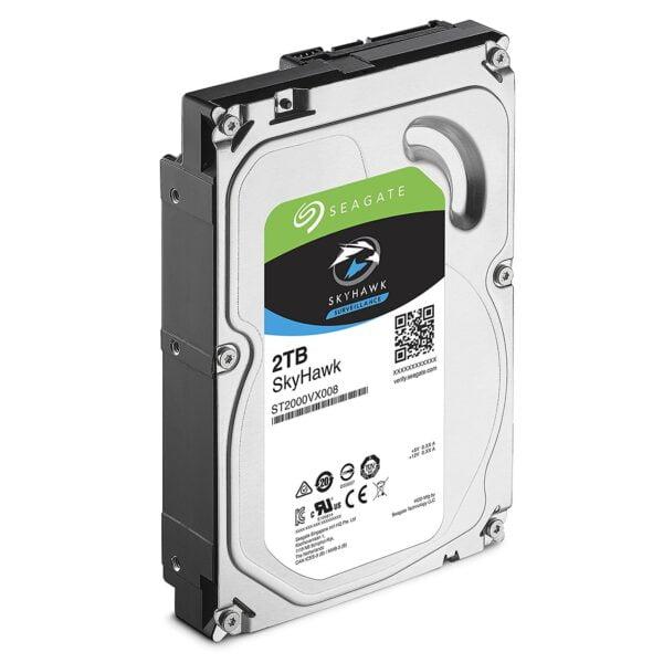 Seagate SATA 2TB Internal Hard Drive SV SKYHAWK-5681