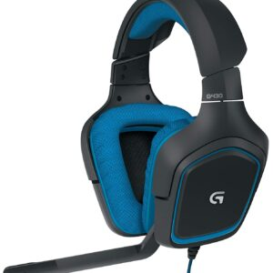 Logitech G430 Surround Sound Gaming Headset with Dolby 7.1 Technology-0