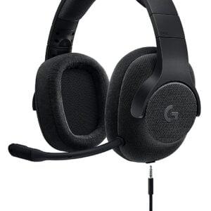 Logitech G433 7.1 Surround Sound Gaming Headset (Black)-0