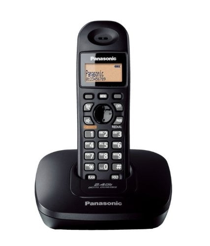 Panasonic Single Line 2.4GHz KX-TG3611SX Digital Cordless Telephone-0