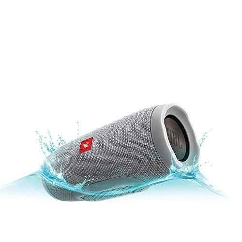 JBL Charge 3 Powerful Portable Speaker (Grey)-5890