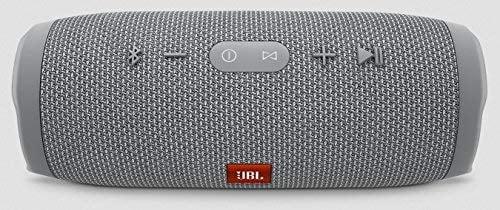 JBL Charge 3 Powerful Portable Speaker (Grey)-5891