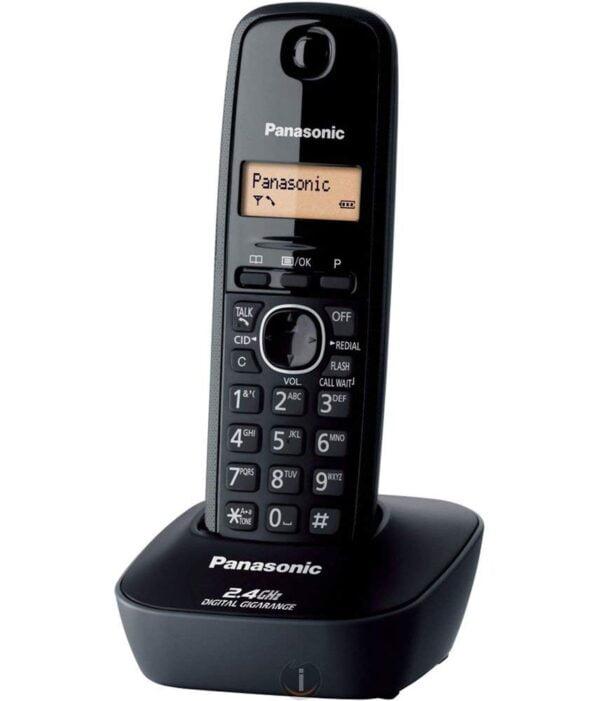 Panasonic Single Line 2.4 KX-TG3411SX Digital Cordless Phone (Black)-0