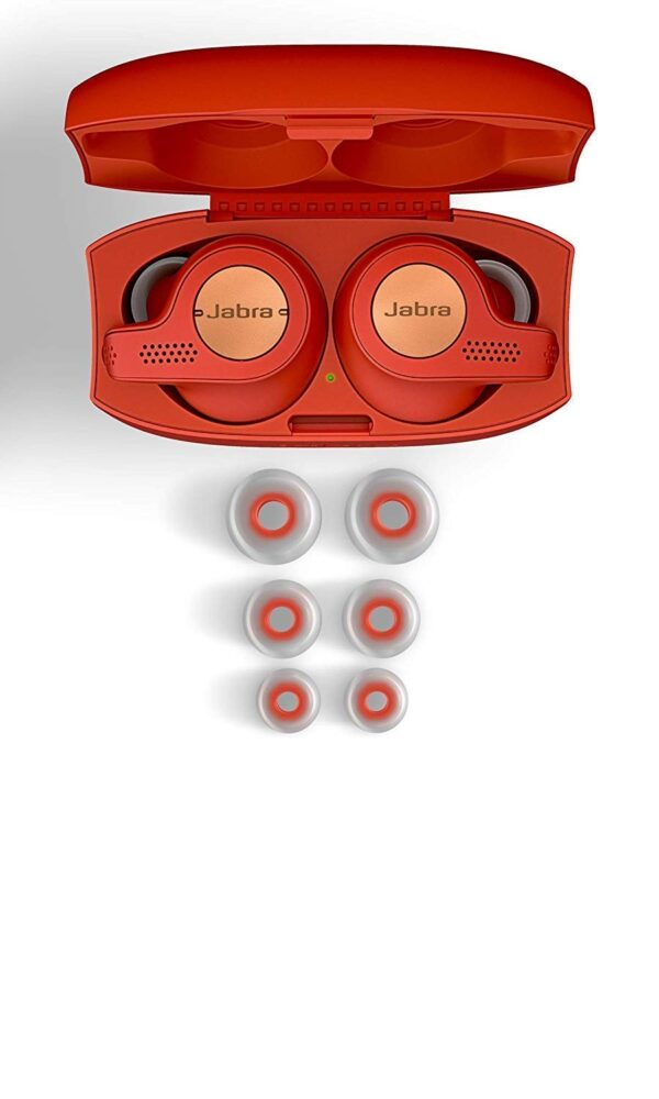 Jabra Elite Active 65t True Wireless Earbuds and Charging Case (Copper Red)(Seal Open Only)-5838