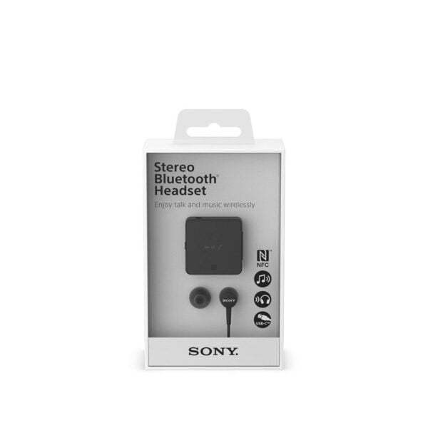 Sony SBH-24 Wireless Stereo Headphones with Google Siri Compatibility (Black)-5826