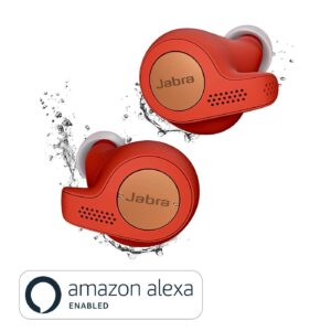 Jabra Elite Active 65t True Wireless Earbuds and Charging Case (Copper Red)(Seal Open Only)-0