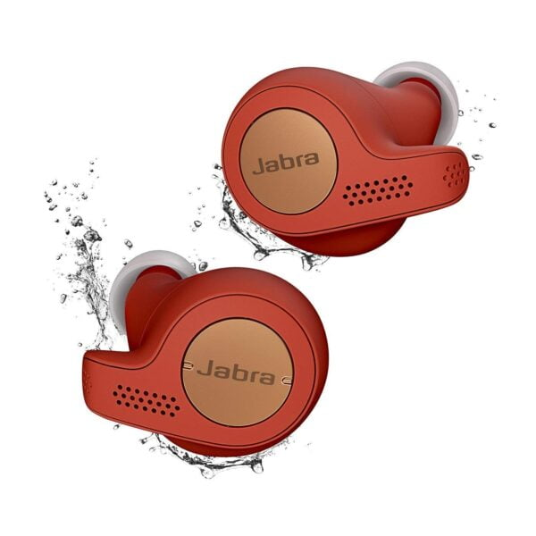 Jabra Elite Active 65t True Wireless Earbuds and Charging Case (Copper Red)(Seal Open Only)-5840