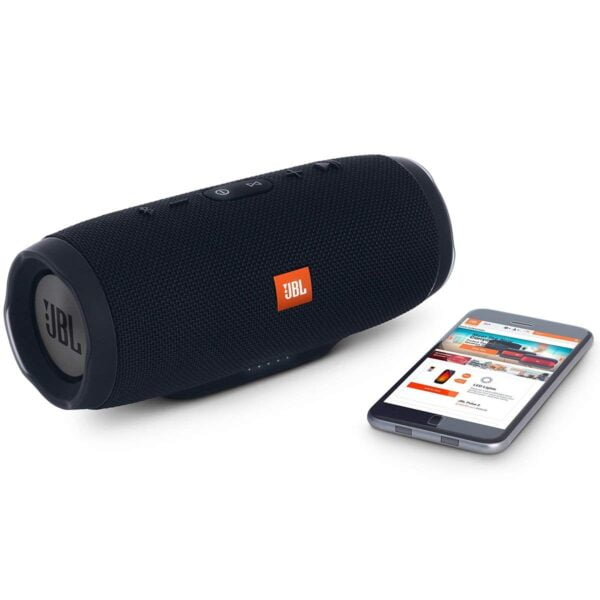 JBL Charge 3 Powerful Portable Speaker with Built-in Powerbank (Black)-5887