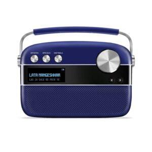Saregama Carvaan Premium Portable Digital Music Player (Royal Blue)-0