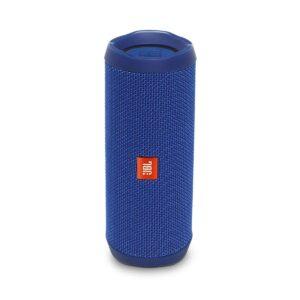 JBL Flip 4 Portable Wireless Speaker with Powerful Bass & Mic (Blue)-0
