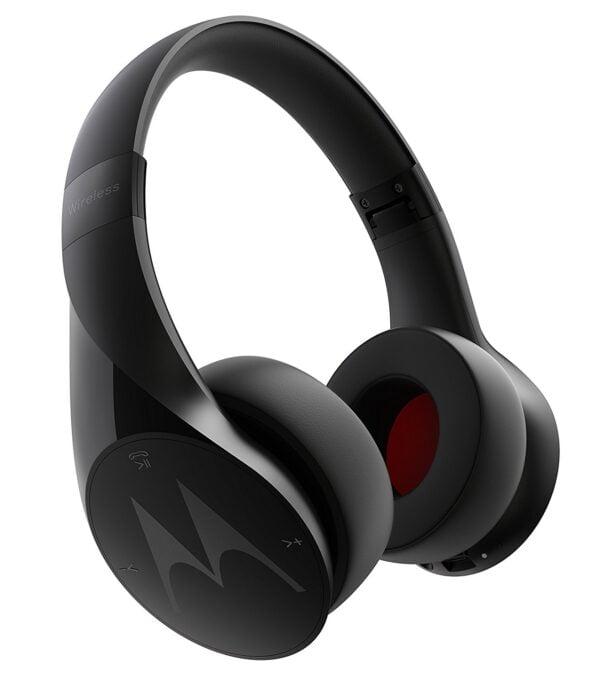 Motorola Pulse Escape SH012 Wireless Over-Ear Headphones (Black)-0