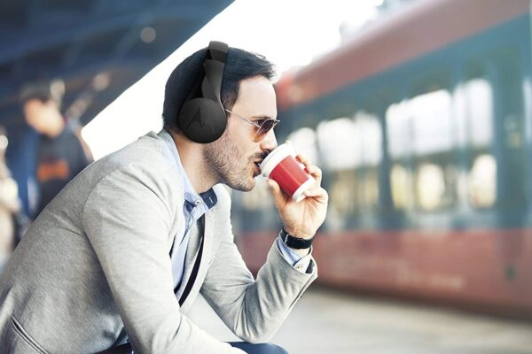 Motorola Pulse Escape SH012 Wireless Over-Ear Headphones (Black)-6001