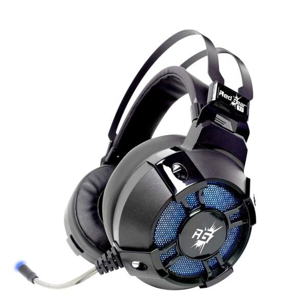 Redgear Cosmo 7.1 Gaming Headphones with RGB LED Effect, Mic and in-line Controller-0