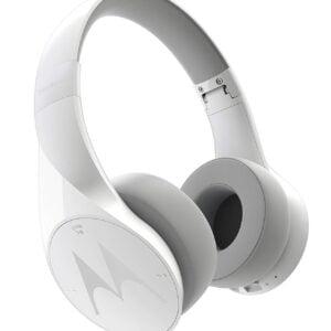 Motorola Pulse Escape SH012 Wireless Over-Ear Headphones (White)-0