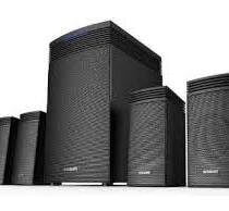 Panasonic SC-HT40GW-K Bluetooth Home Audio Speaker-0