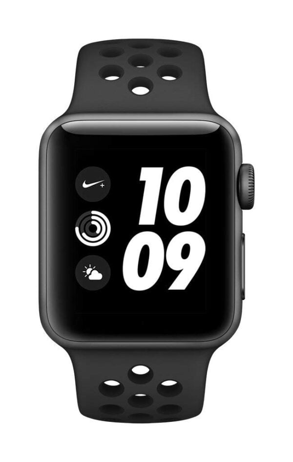 Apple Watch Nike+ GPS 38mm Smart Watch (Space Grey Aluminum Case, Anthracite/Black Nike Sport Band)-6116