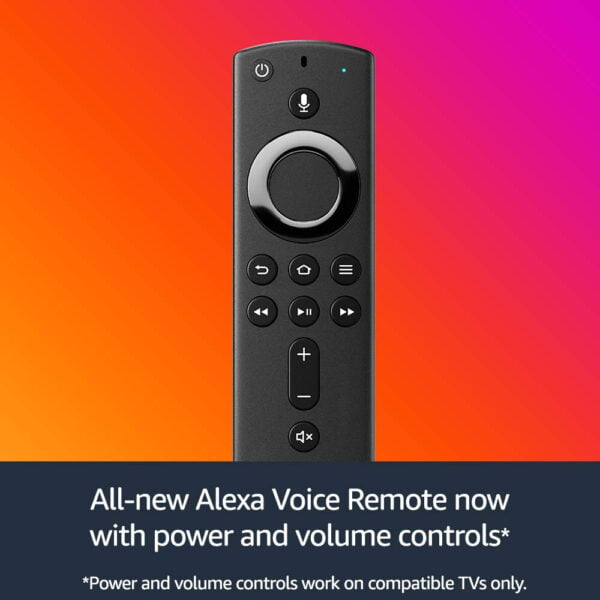Amazon Fire TV Stick with all-new Alexa Voice Remote   Streaming Media Player-6044