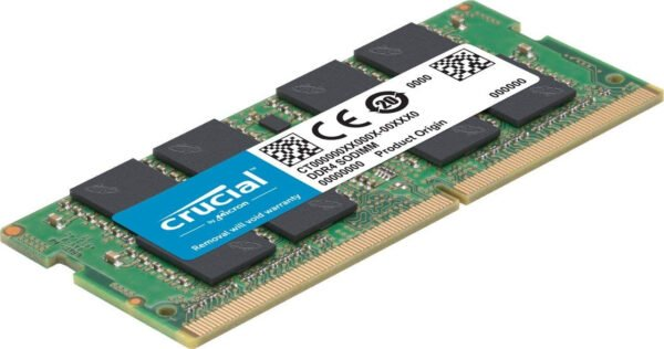 Crucial 8GB DDR4-2400 SODIMM also Supports 2133mhz for Laptop-6131