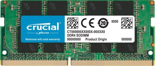 Crucial 8GB DDR4-2400 SODIMM also Supports 2133mhz for Laptop-0