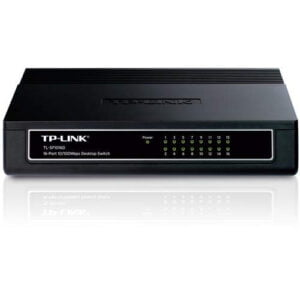 TP-Link TL-SF1016D 16-Port 10/100Mbps Desktop/Rackmount Switch (Black)-0