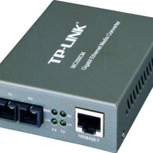 TP-Link MC200CM Gigabit Multi-Mode Media Converter (Black)-0