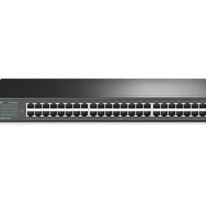TP-Link TL-SF1048 48-Port 10/100Mbps Rackmount Switch (Black)-0