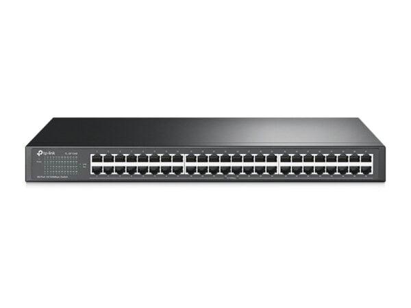 TP-Link TL-SF1048 48-Port 10/100Mbps Rackmount Switch (Black)-0