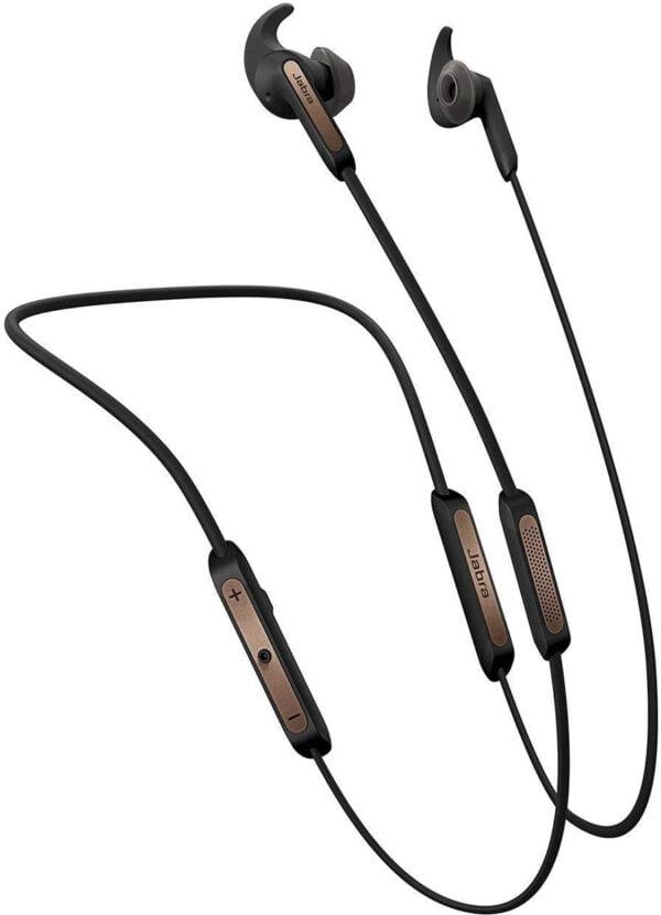 Jabra Elite 45e Wireless Bluetooth in-Ear Headphones (Copper Black)(Seal Open Only)-0