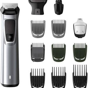 Philips MG7715 Multi-Grooming Kit For Men Cordless Grooming Kit for Men (Silver, Black)(Packing Damage only)-0