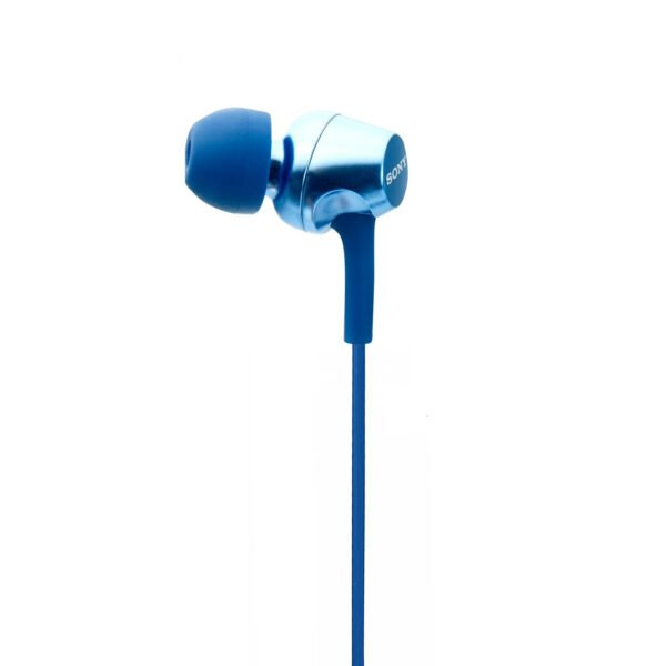 Sony MDR-EX255AP in-Ear Headphones with Mic (Blue)-6718