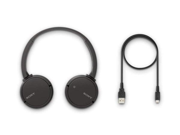 Sony CH500 Wireless Headphones (Black)-6461