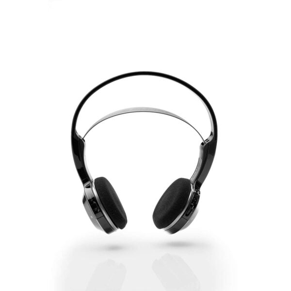 Sony MDR-IF245RK Cordless Rechargeable Lightweight Headphones (Black)-6507