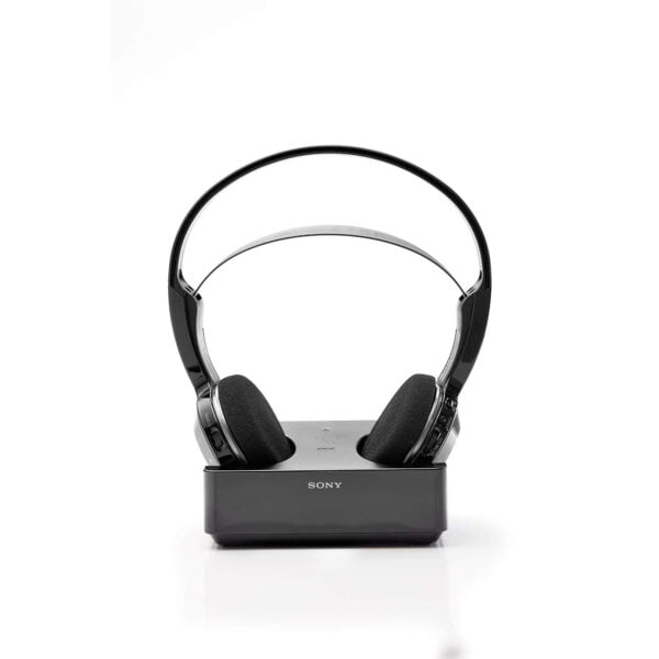Sony MDR-IF245RK Cordless Rechargeable Lightweight Headphones (Black)-6510
