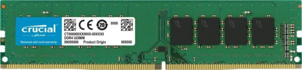 Crucial 4GB DDR4 288-Pin RAM For Desktop 2666mhz will work in 2133mhz and 2400mhz-0