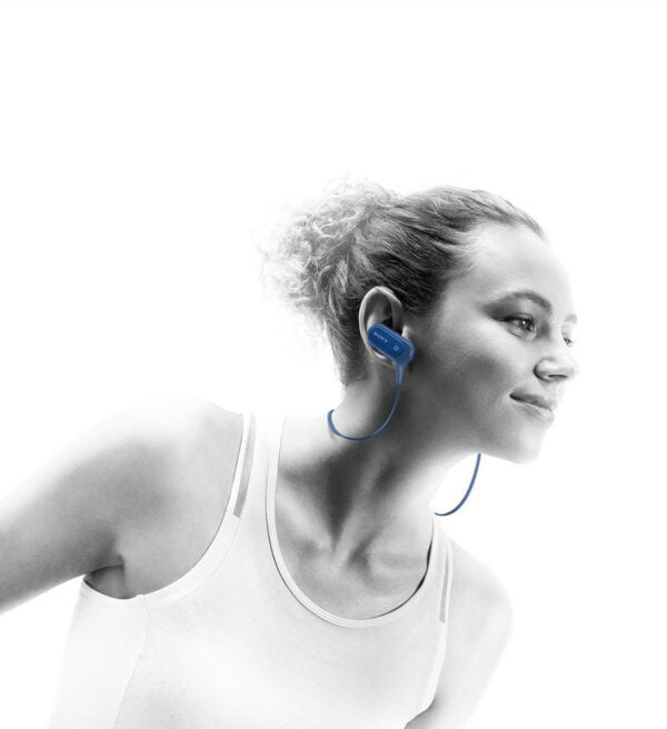 Sony Extra Bass MDR-XB50BS Active Sports Wireless in-Ear Headphones (Blue)-6481