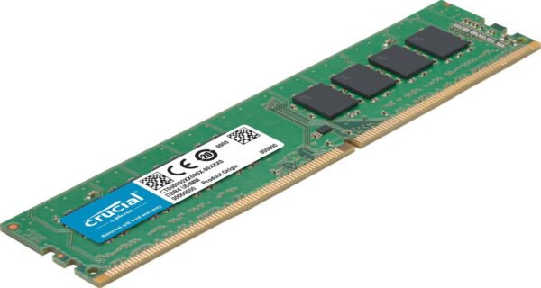 Crucial 8GB DDR4 2400mhz DIMM RAM 2400mhz will work in 2133mhz support motherboard also For Desktop -6818