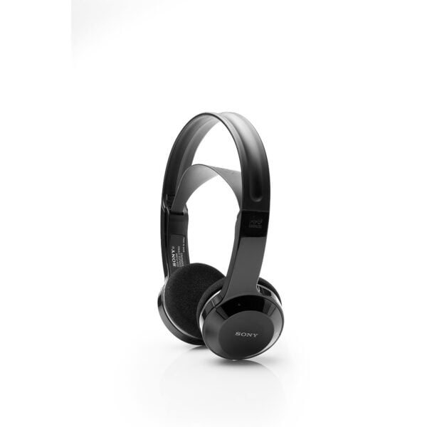 Sony MDR-IF245RK Cordless Rechargeable Lightweight Headphones (Black)-0