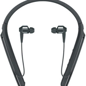 Sony WI-1000X Wireless Noise Cancelling Neck Band in-Ear Headphones (Black)-0