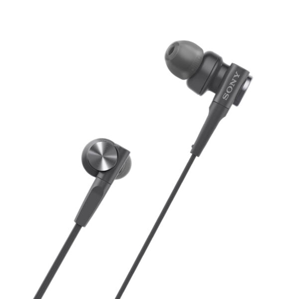 Sony MDR-XB55AP Extra Bass in-Ear Headphone with Mic (Black)-6409