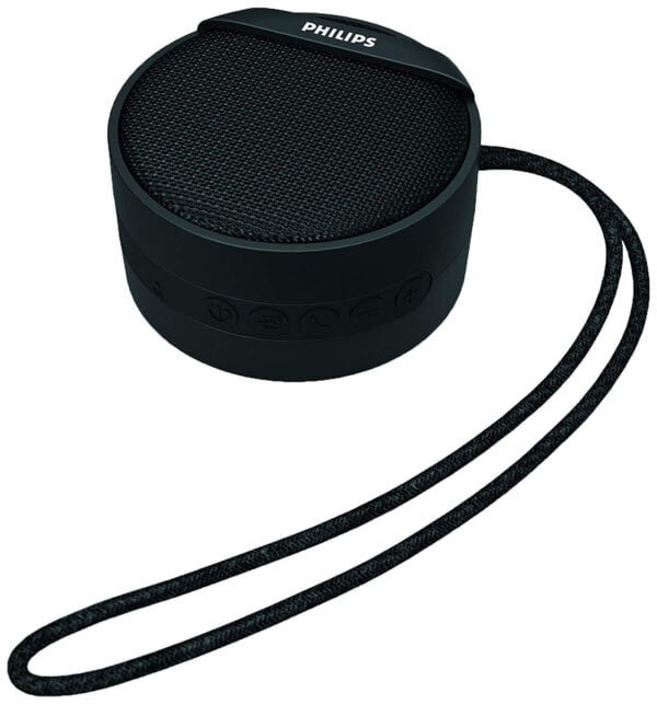 Philips BT40BK/94 Portable Wireless Bluetooth Speaker (Black)-0
