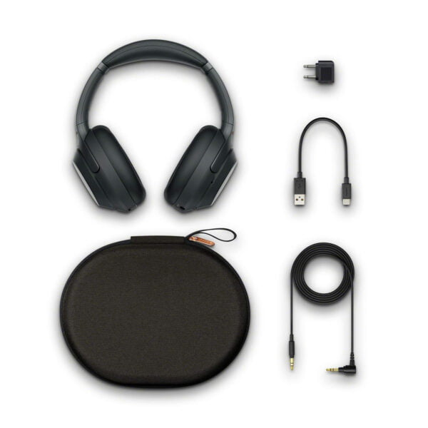 Sony WH-1000XM3 Wireless Industry Leading Noise Cancellation Headphones with Touch Sensor (Black)-6401