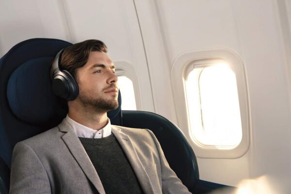 Sony WH-1000XM3 Wireless Industry Leading Noise Cancellation Headphones with Touch Sensor (Black)-6400