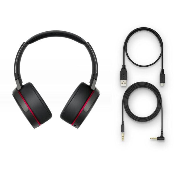Sony MDR-XB950B1 On-Ear Wireless Premium Extra Bass Headphones (Black)-6439