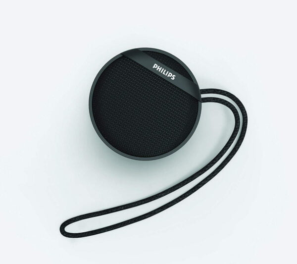 Philips BT40BK/94 Portable Wireless Bluetooth Speaker (Black)-6254