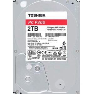 Toshiba 2TB Desktop 7200rpm Internal Hard Drive-0