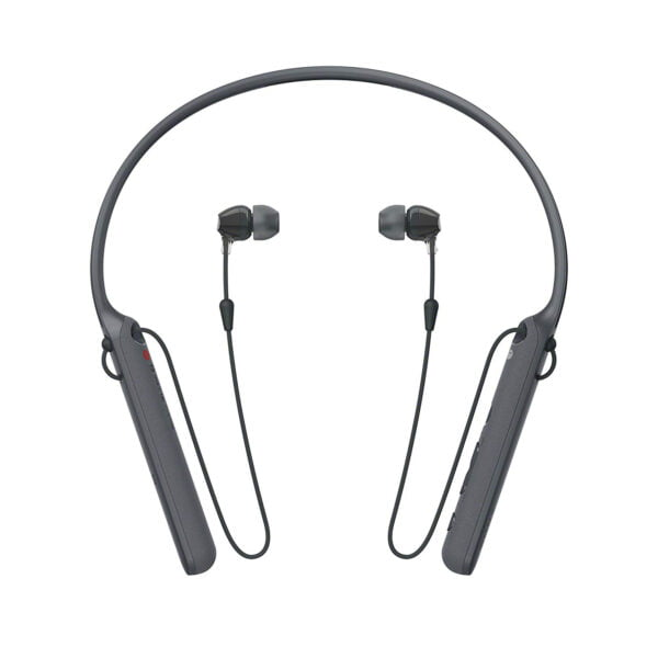 Sony C400 Wireless Behind-Neck in Ear Headphone Black (WIC400/B) (100% New and Original)-0